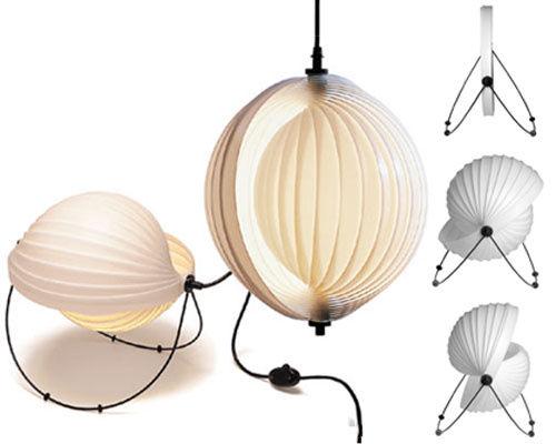 lampe de table eclipse 32 cm 32 cm blanc objekto. Black Bedroom Furniture Sets. Home Design Ideas