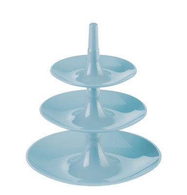 Serviteur Babell XS / Ø 20 x H 22 cm - Koziol bleu poudre en matière plastique