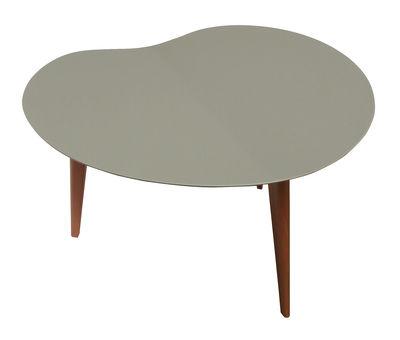 Table basse lalinde haricot small gris pieds ch ne sentou edition - Sentou table basse ...