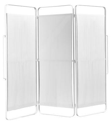 Mobilier - Paravents, séparations - Paravent Daysign / H 162 x L 180 cm - Serax - Blanc - Métal, Toile en coton