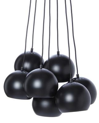 Ball Pendelleuchte / 7er-Set - Frandsen - Schwarz mattiert
