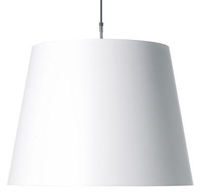 Illuminazione - Lampadari - Sospensione Hang di Moooi - Blanc - Cotone