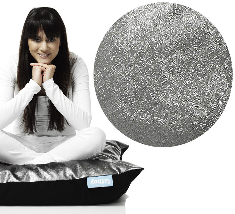 pouf cuscino angels floor cushion wood cb0103 silver by fatboy. Black Bedroom Furniture Sets. Home Design Ideas