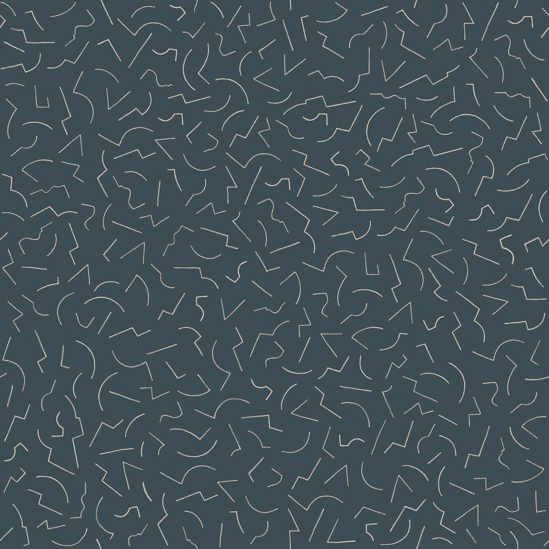 papier peint constellation 1 1 rouleau larg 70 cm noir petite friture. Black Bedroom Furniture Sets. Home Design Ideas