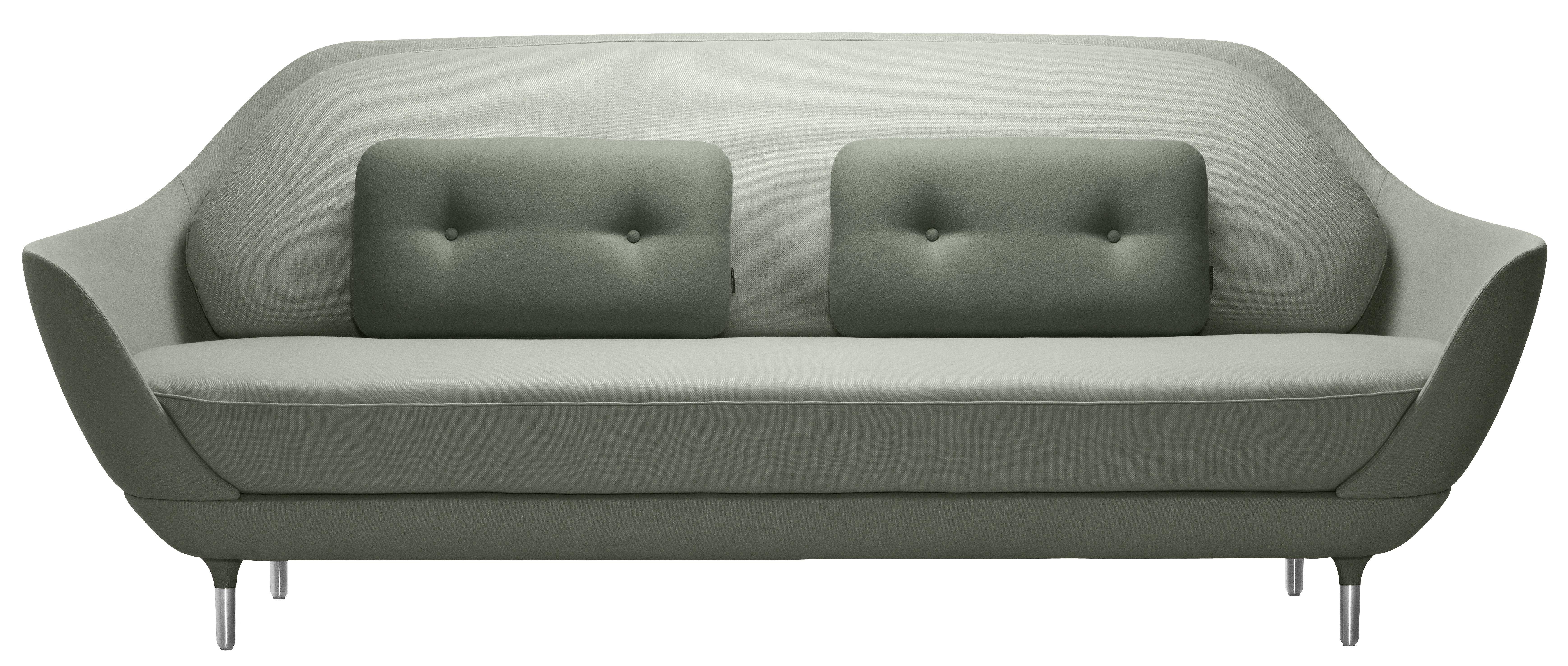 Scopri divano destro favn l 221 cm verde salvia di fritz for Divano verde salvia