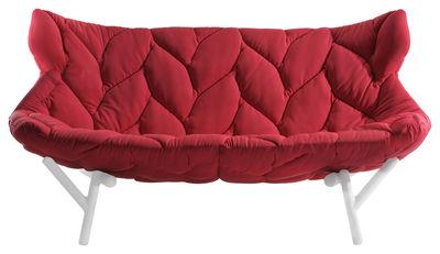 Foliage Sofa / L 175 cm - Kartell - Weiß,Rot