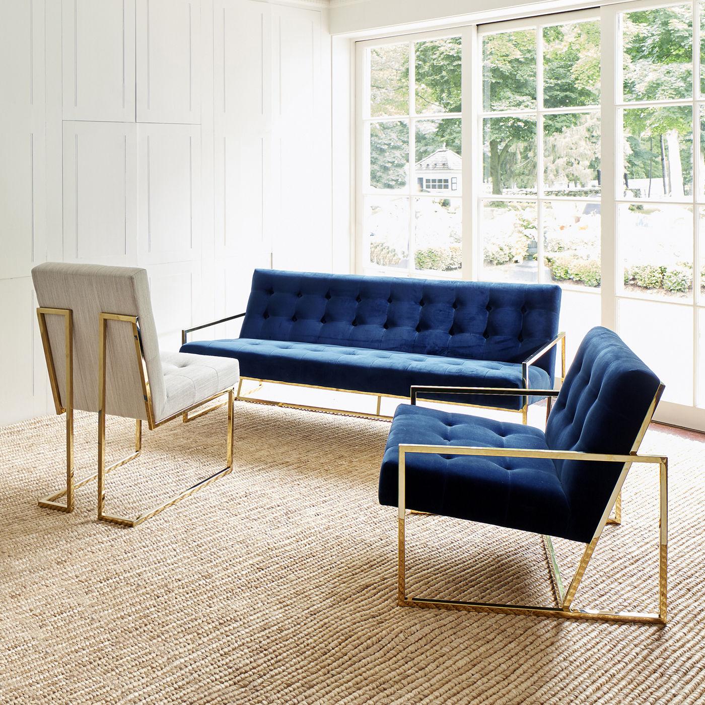Goldfinger Apartment Straight Sofa