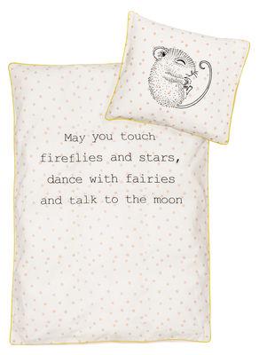 Déco - Pour les enfants - Parure de lit enfant Liva / 100 x 140 cm - Bloomingville - Souris - Coton