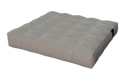matelas gonflable modul 39 air flottant 117 x 117 cm matelas gris pigro felice. Black Bedroom Furniture Sets. Home Design Ideas