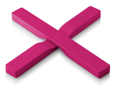 Dessous de plat magnétique - Eva Solo rose framboise en matière plastique