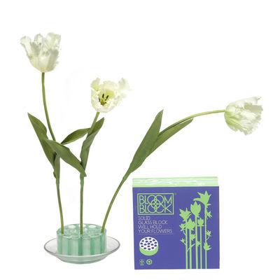 vase bloomblock transparent pols potten. Black Bedroom Furniture Sets. Home Design Ideas