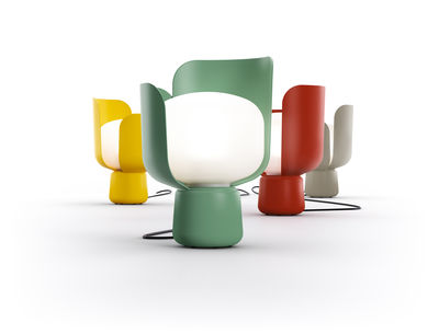 lampe de table blom h 24 cm jaune fontana arte. Black Bedroom Furniture Sets. Home Design Ideas