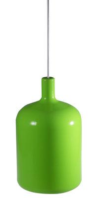 Suspension Bulb - Bob design vert en matière plastique