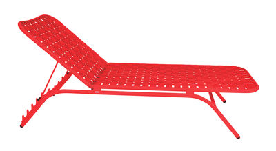 Bain de soleil Yard / Sangles élastiques - Emu rouge en tissu