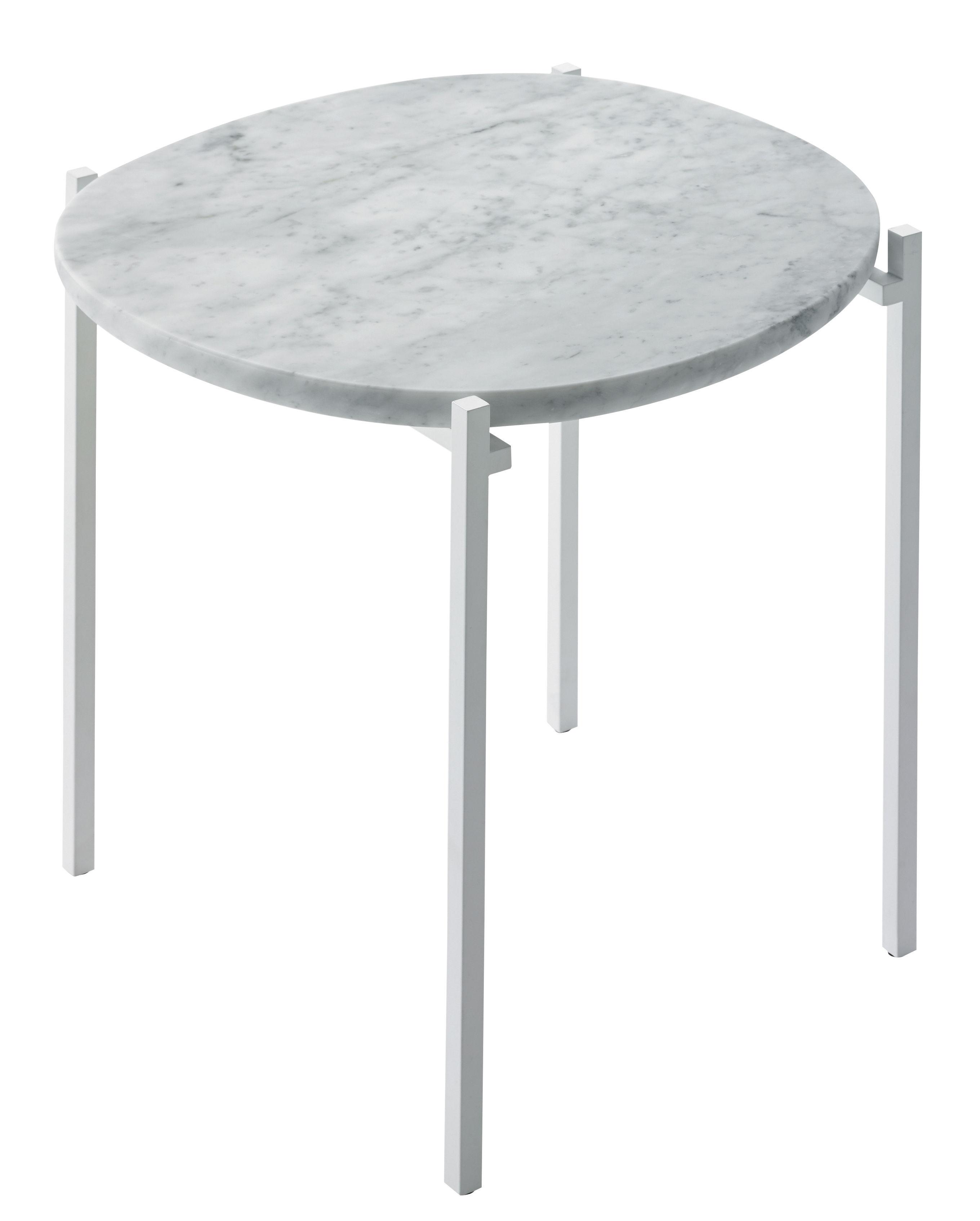 Niobe beistelltisch marmor 48 x 46 cm wei er marmor for Marmor beistelltisch