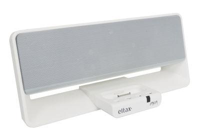Station d'accueil Eltax MYM Dock iPhone et iPod Tangent blanc en matière plastique