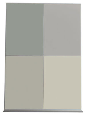 Pin Up Magnettafel - hochkant Grau-silber by Danese | Made In Design