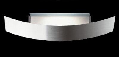 Lighting - Wall Lights - Riga Wall light - 56 cm by Fontana Arte - Steel - Halogen - Nickel-plate metal