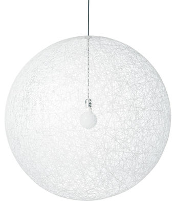 Suspension Random Light / Large - Ø 110 cm - Moooi blanc en matière plastique