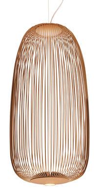 Spokes 1 Pendelleuchte / LED - Ø 32,5 x H 71 cm - Foscarini - Kupfer