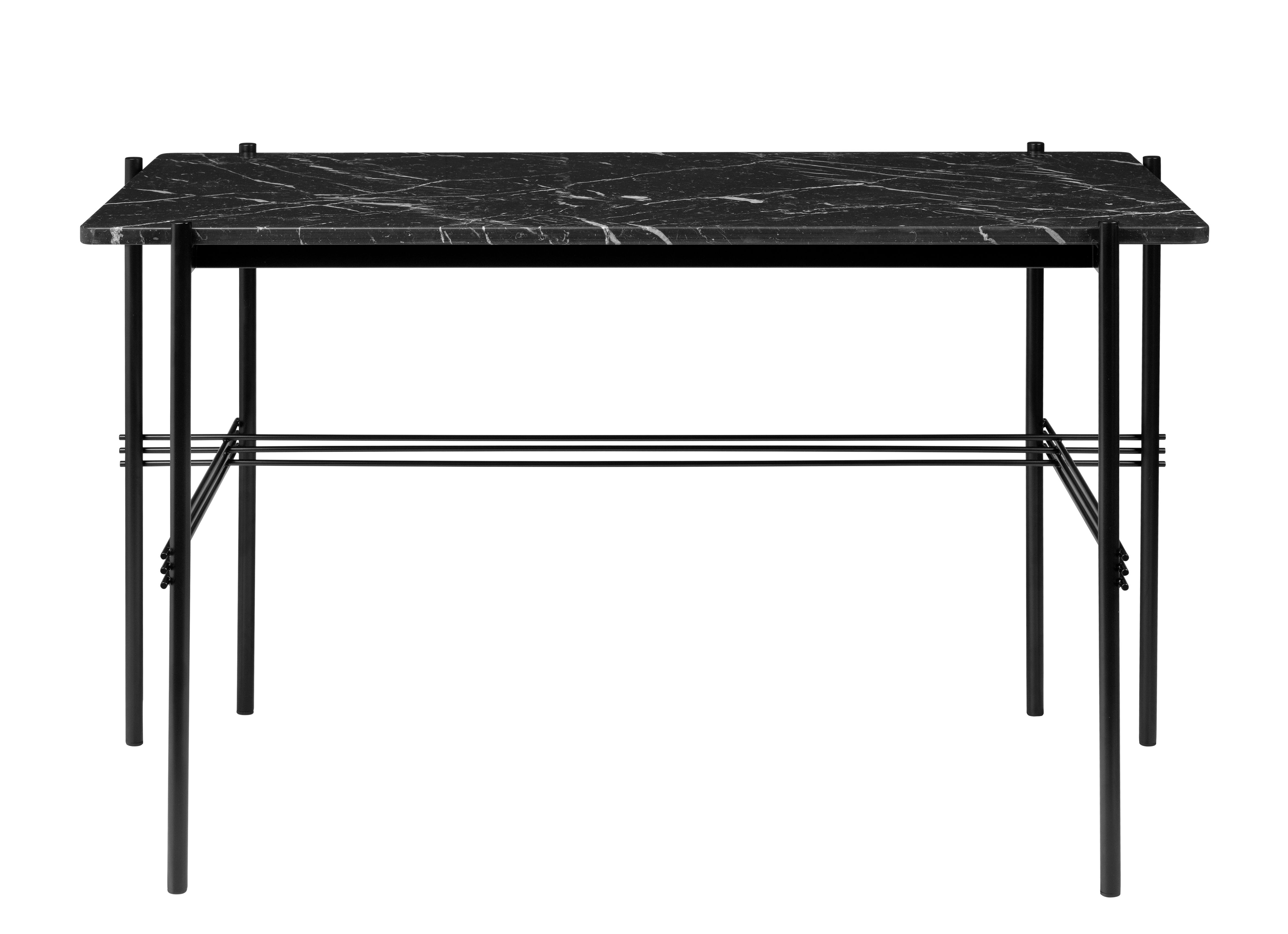 bureau ts marbre gamfratesi l 120 cm marbre noir. Black Bedroom Furniture Sets. Home Design Ideas