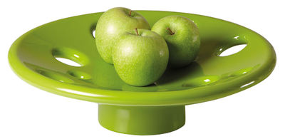 Image of Centrotavola Dots - / Ø 41 cm di Slide - Verde - Materiale plastico