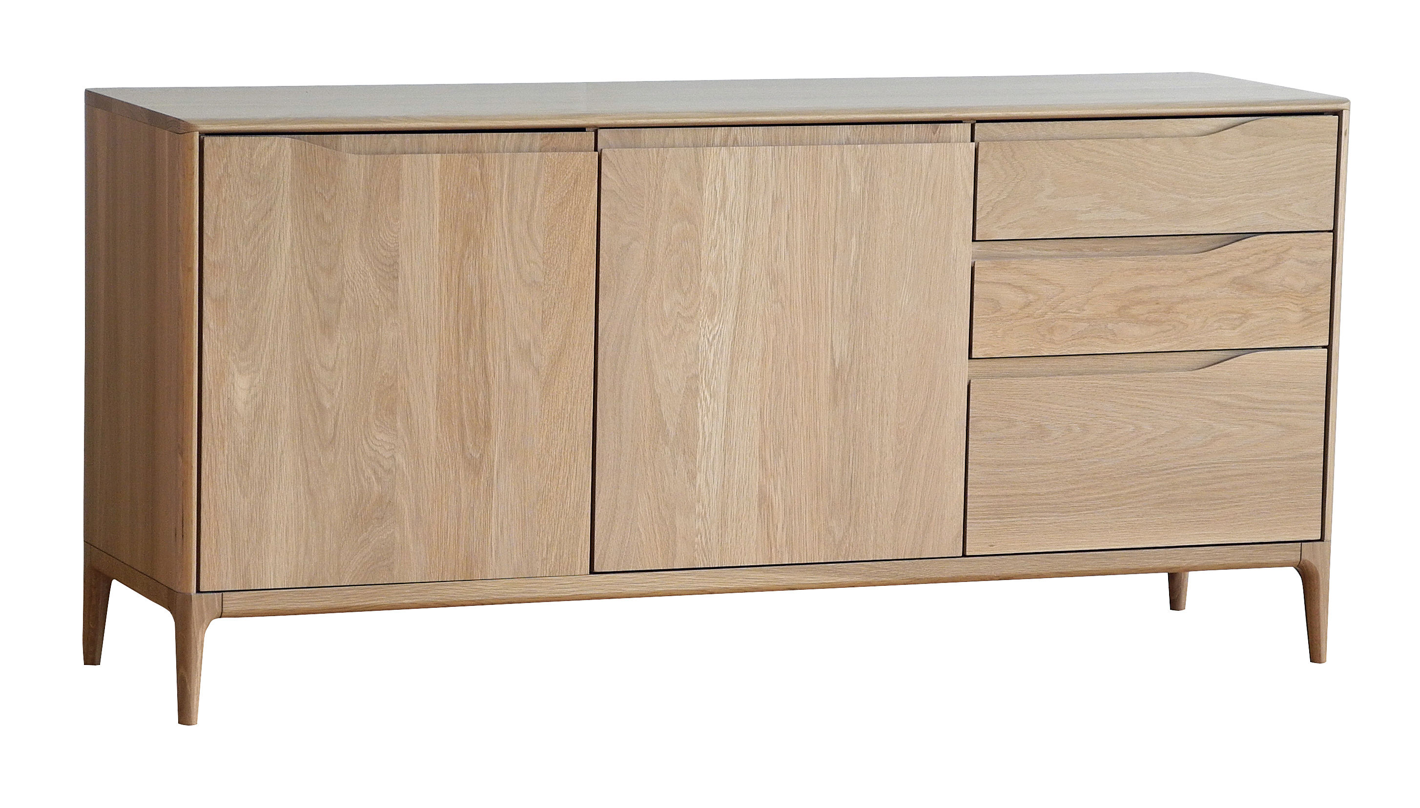 buffet romana ch ne l 160 cm ch ne naturel ercol. Black Bedroom Furniture Sets. Home Design Ideas