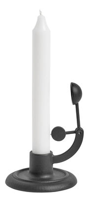 Bougeoir Moment / Ghisa - Spegni candela automatico - Hay noir en métal