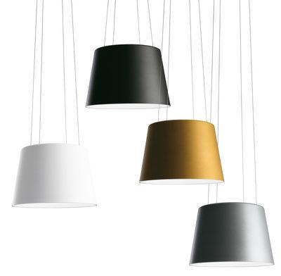 suspension aurea aluminium fontana arte made in design. Black Bedroom Furniture Sets. Home Design Ideas