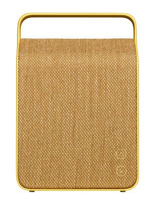Enceinte Bluetooth Oslo Sans fil Tissu Vifa jaune sable en tissu