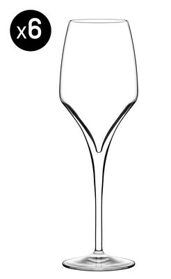 Arts de la table - Verres  - Flûte à champagne Tiburòn / 22 cl - Lot de 6 - Italesse - Transparent - Verre