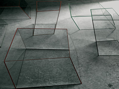 Furniture Coffee Tables Wireframe Table 40 X 38 Cm By Glas Italia