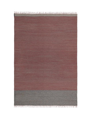 Tapis d'extérieur Mustache SA Tissé main 300 x 400 cm Kristalia rouge,brun en tissu