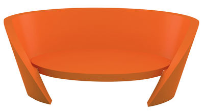 Sofà Rap di Slide - Arancione - Materiale plastico