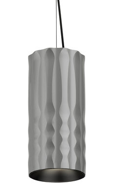 Fiamma Pendelleuchte / LED - Ø 13 cm - Artemide - Grau metallic