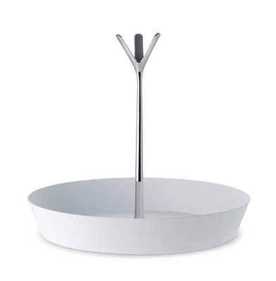 Arts de la table - Corbeilles, centres de table - Porte-fruits Tutti Frutti / Ø 29,5 cm - Alessi - Blanc - Acier laqué époxy