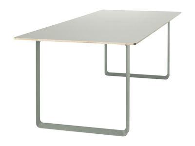 70-70 Tisch - L 170 cm - Muuto - Mandelgrün