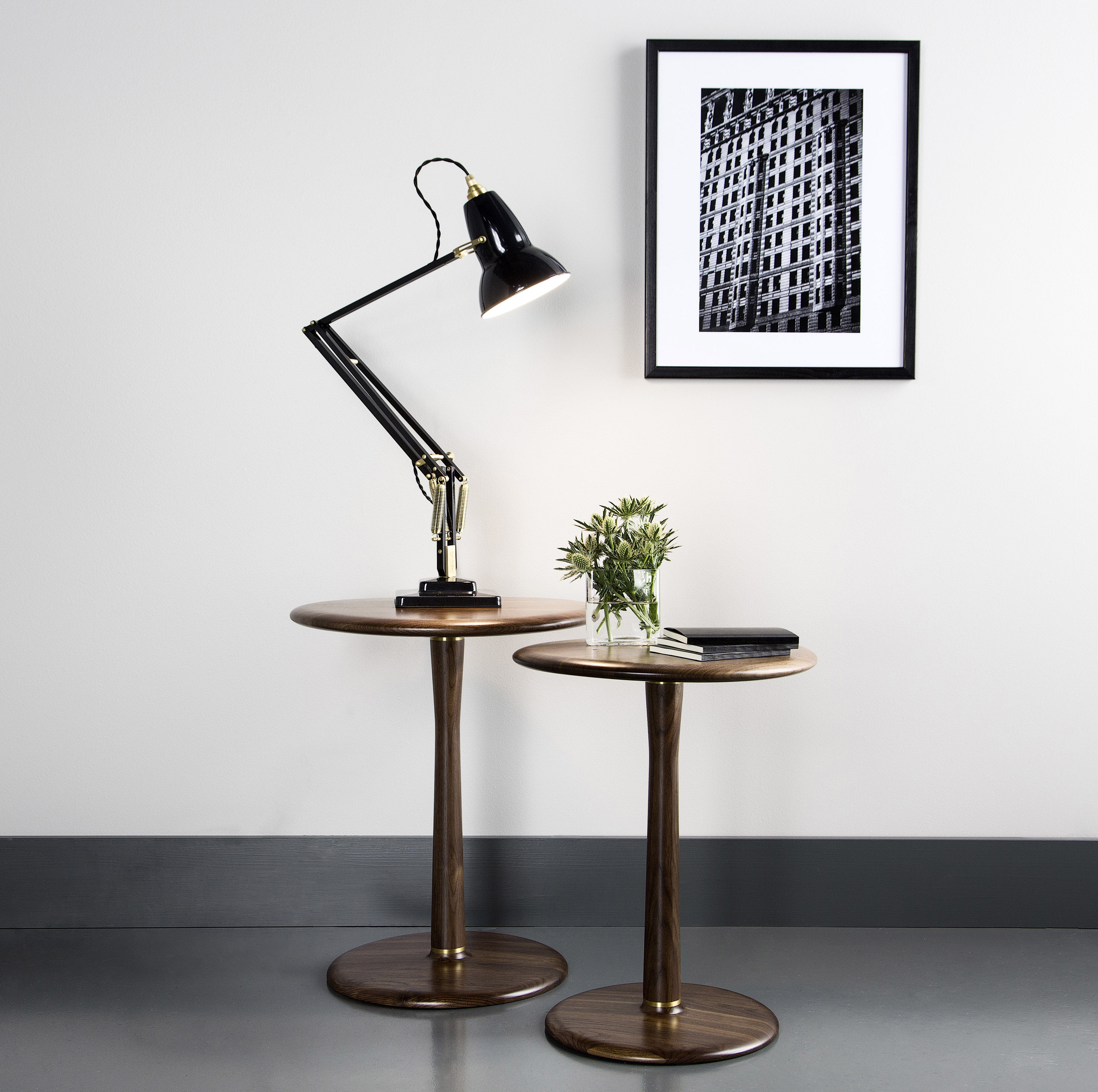 Lampe de table original 1227 laiton gris ardoise anglepoise - Luminaire industriel la giant collection par anglepoise ...