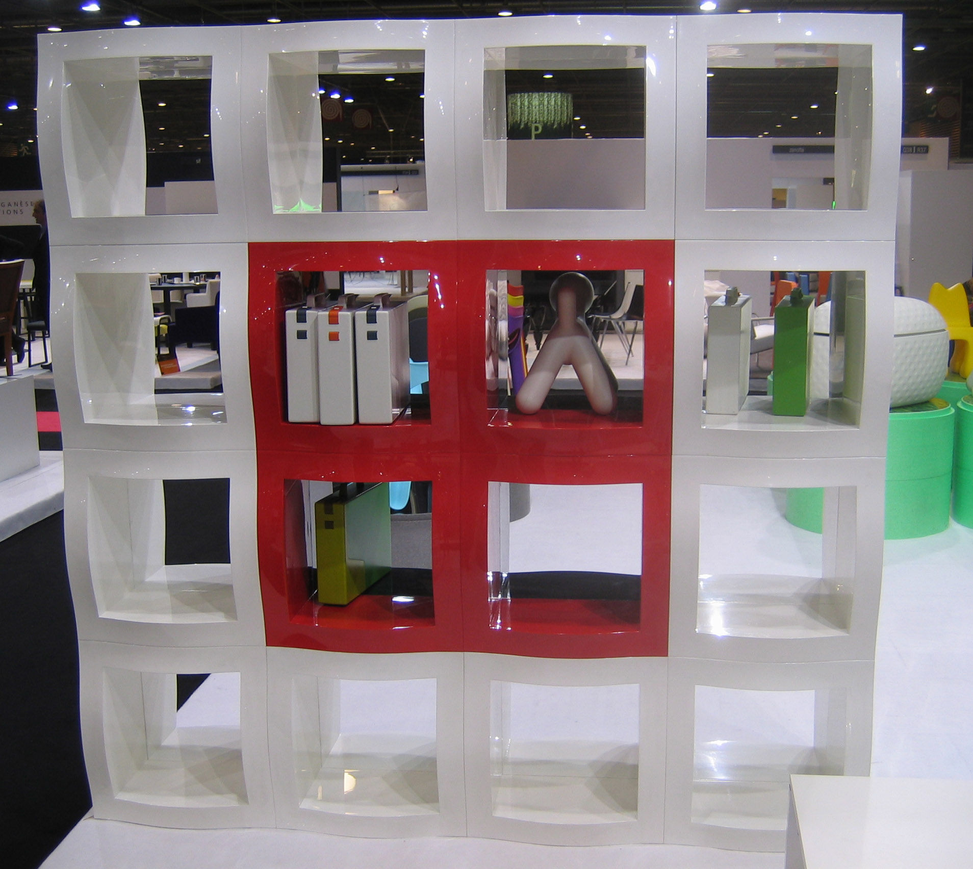 etag re boogie woogie cube modulaire 52 x 52 cm rouge sans fond magis. Black Bedroom Furniture Sets. Home Design Ideas