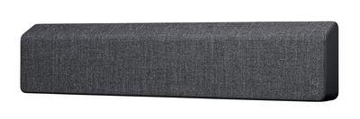 Enceinte Bluetooth Stockholm L 110 cm Tissu Vifa gris anthracite en tissu