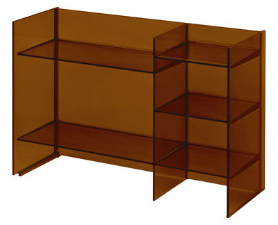 Furniture   Bookcases U0026 Bookshelves   Sound Rack Storage Unit By Kartell    Amber