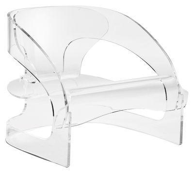 Chaise 4801 by Joe Colombo - Édition Limitée et numérotée - Kartell cristal en matière plastique