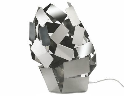 Foto Lampada da tavolo La Stanza dello Scirocco di Alessi - Metallo lucidato - Metallo