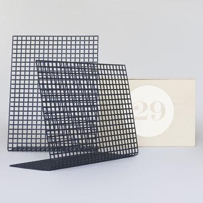 Accessoires - Pratique et malin - Coffret Designerbox#29 / Panneau mémo de Christian Haas - Designerbox - Anthracite / Coffret bois - Métal