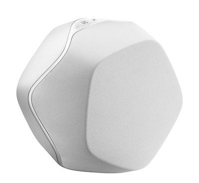Enceinte Bluetooth S3 B O PLAY by Bang Olufsen blanc en matière plastique