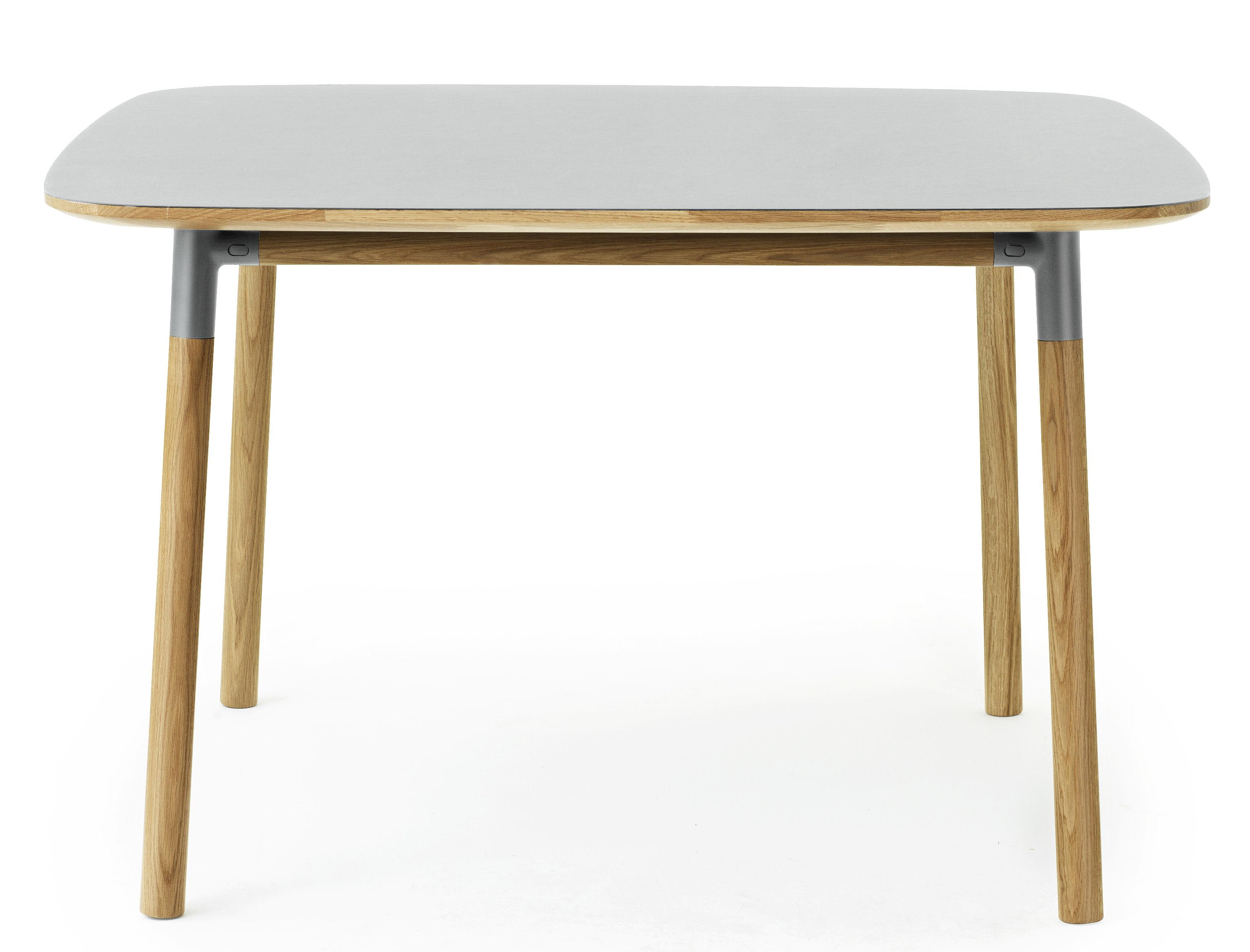 Table form 120 x 120 cm gris ch ne normann copenhagen for Cie 85 table 4