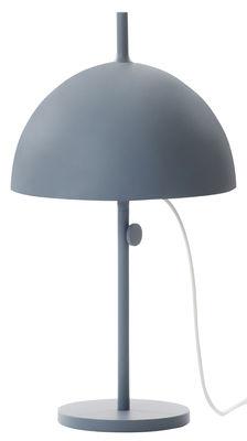Lampe de table Nendo Sphere w132t / Hauteur réglable - Wästberg Bleu gris en Métal