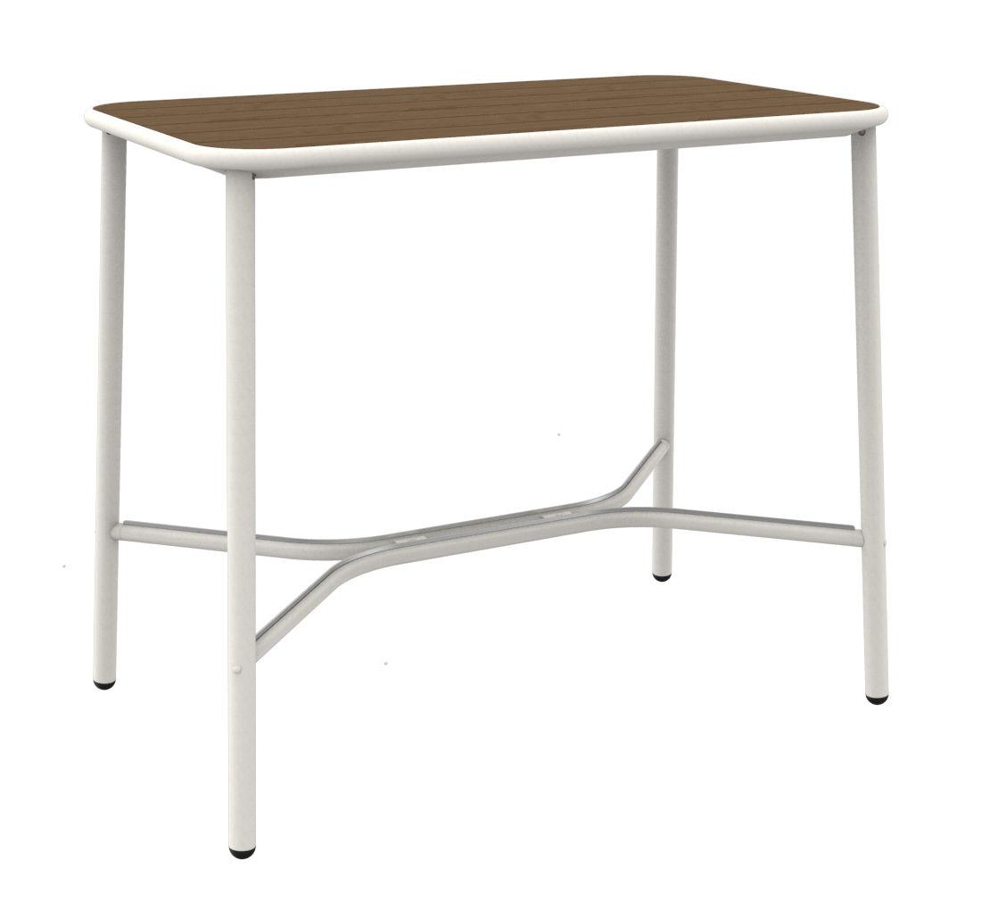yard hoher tisch esche 120 x 70 cm wei tischplatte esche by emu made in design. Black Bedroom Furniture Sets. Home Design Ideas