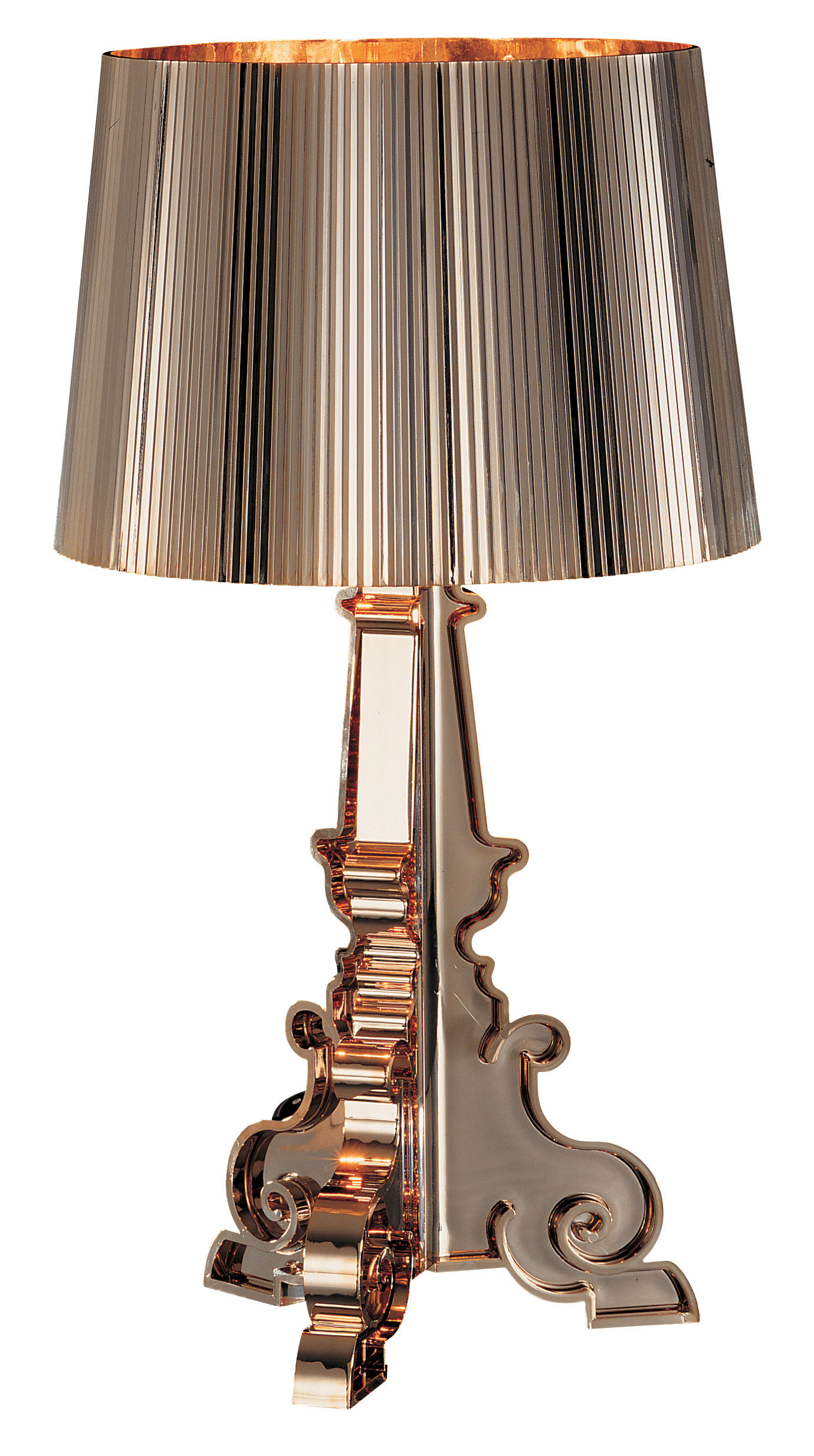 Bourgie Or Table Lamp Gold By Kartell