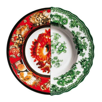 Assiette creuse Hybrid Cecilia Ø 25,4 cm Seletti multicolore en céramique